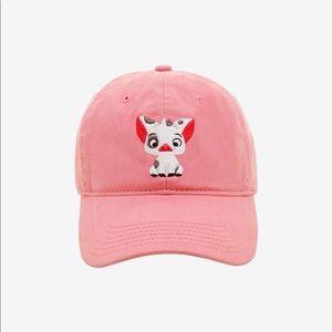 NEW Disney Moana Pua Pink Baseball Cap Dad Hat